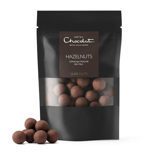 40% Milk Chocolate Covered Hazelnuts, , hi-res