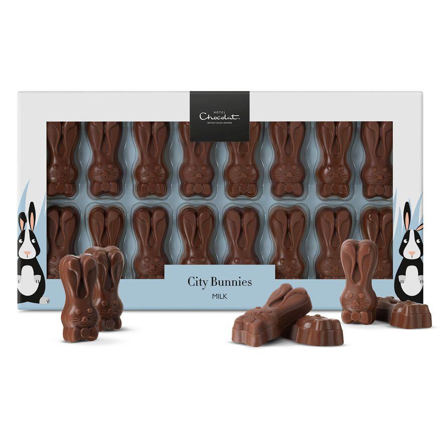 City Easter Bunnies - Milk Chocolate, , hi-res