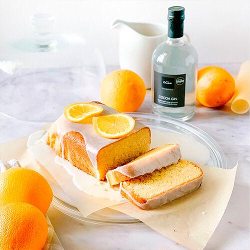 Orange & Gin Loaf Cake Recipe, , hi-res
