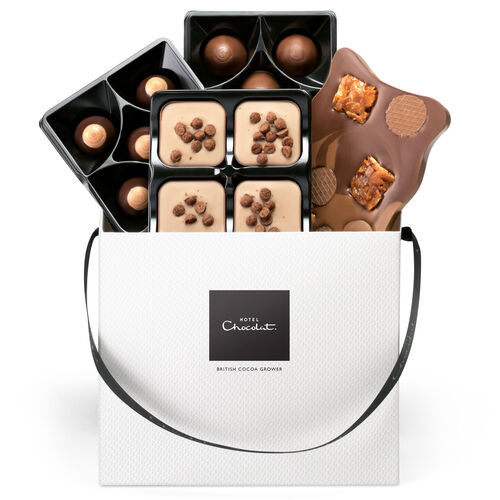 Caramel Chocolate Selector Gift Box , , hi-res