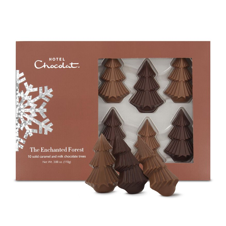 The Enchanted Forest - Chocolate Christmas Trees, , hi-res