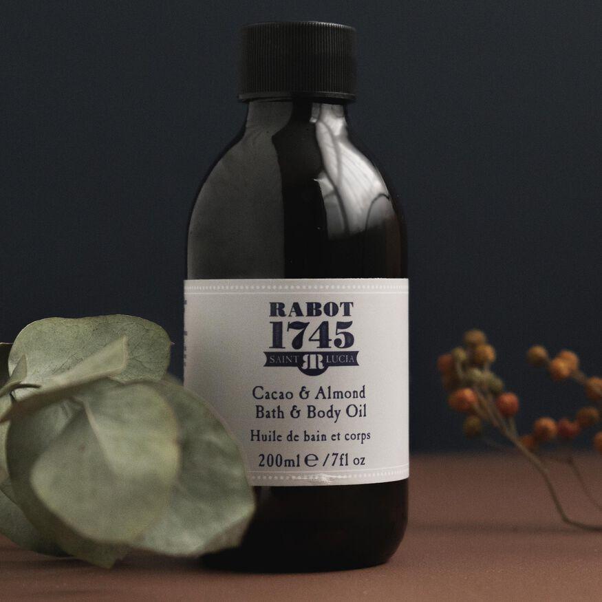 Cacao & Almond Bath & Body Oil, , hi-res