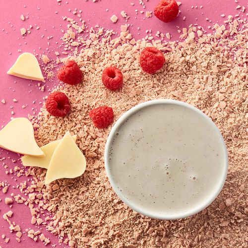 Raspberry-White Hot Chocolate – Single-Serves, , hi-res