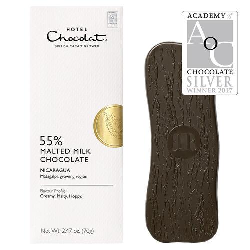 Nicaragua 55% Malted Milk Chocolate, , hi-res