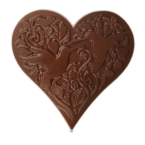 Milk Chocolate Heart Valentines Gifts For Her From Hotel Chocolat