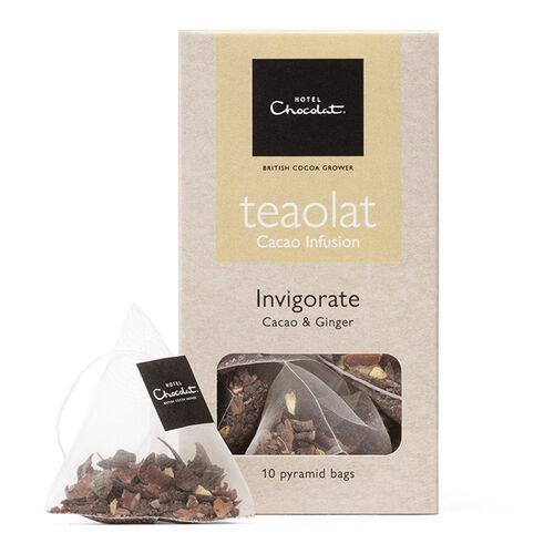 Ginger Tea Bags - Teaolat Invigorate, , hi-res
