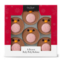 A Dozen Roly-Poly Chocolate Robins
