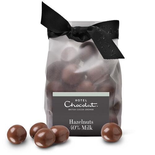 Chocolate Caramelised Hazelnuts, , hi-res