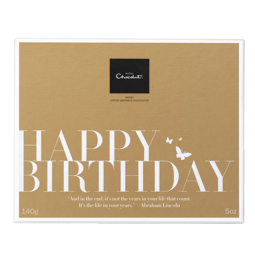 Chocolate Birthday Gifts By Hotel Chocolat