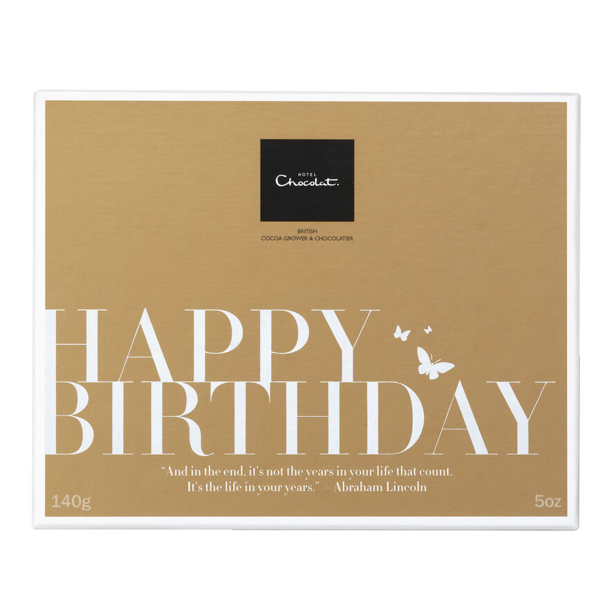 Chocolate Birthday Gifts By Hotel Chocolat