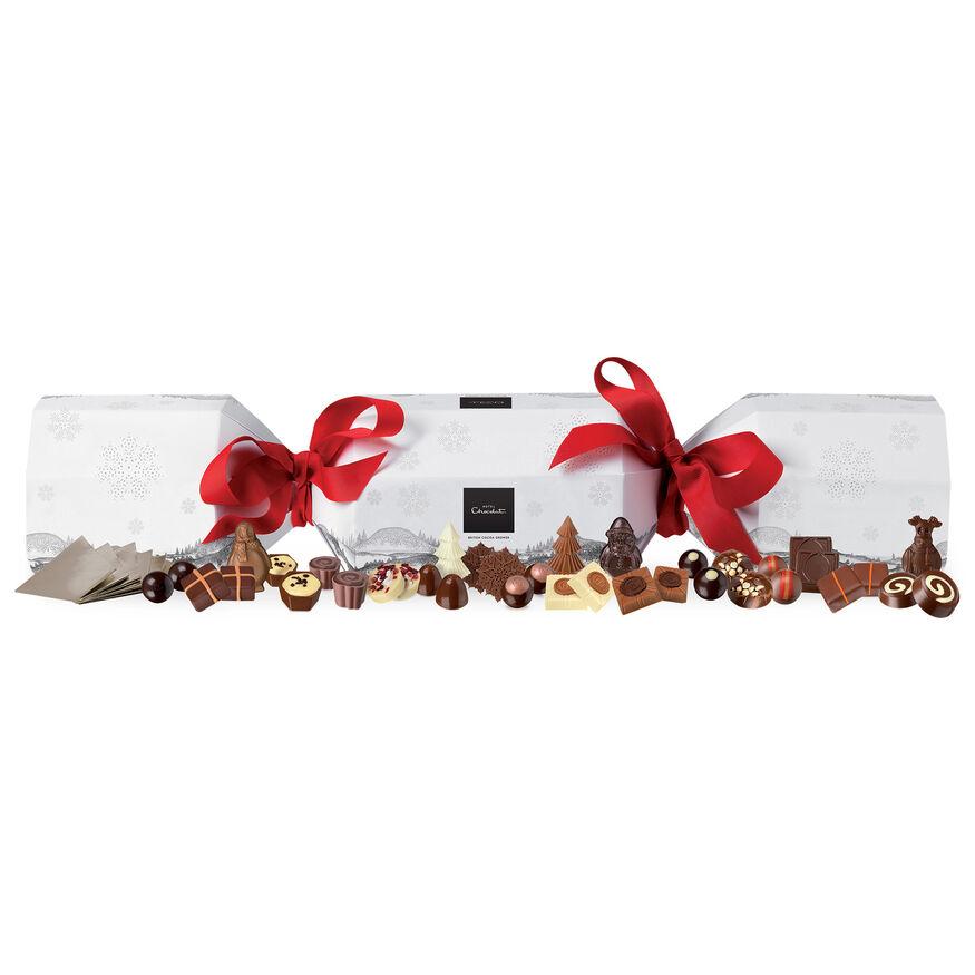 Rather Large Chocolate Christmas Cracker, , hi-res