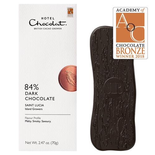 Saint Lucia 84% Dark Chocolate, , hi-res