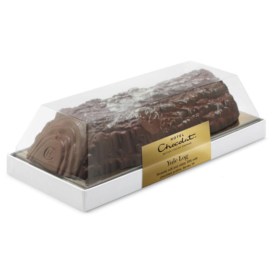 Chocolate Yule Log, , hi-res