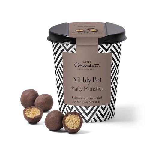 Malt Chocolate Nibbly Pot, , hi-res