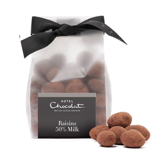50% Milk Chocolate Raisins