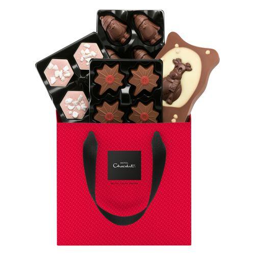 Christmas Chocolate Selector Gift Box , , hi-res