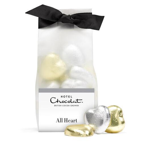 Chocolate Foil Hearts, , hi-res