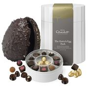 Dark Chocolate Ostrich Easter Egg 1095g, , hi-res