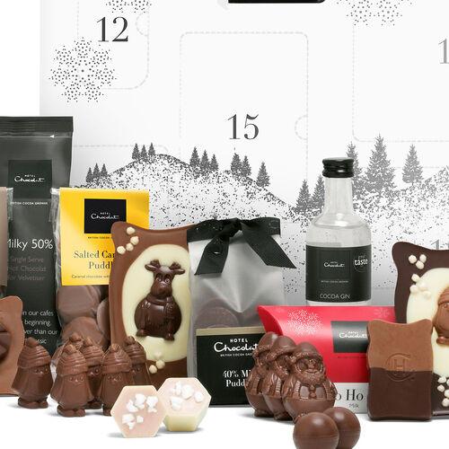 Large Chocolate Advent Calendar by Hotel Chocolat