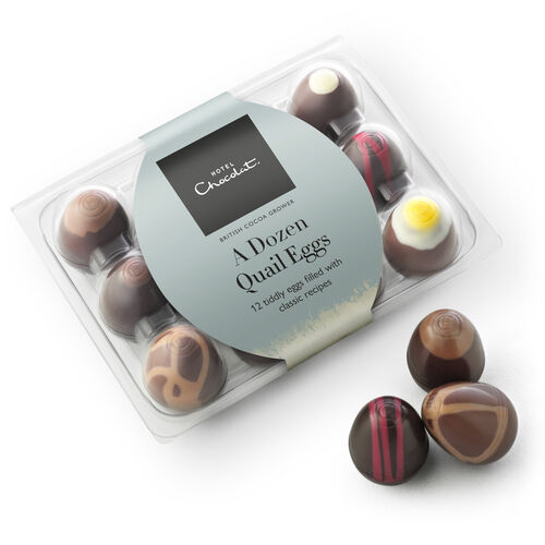 Chocolate Quail Eggs, , hi-res