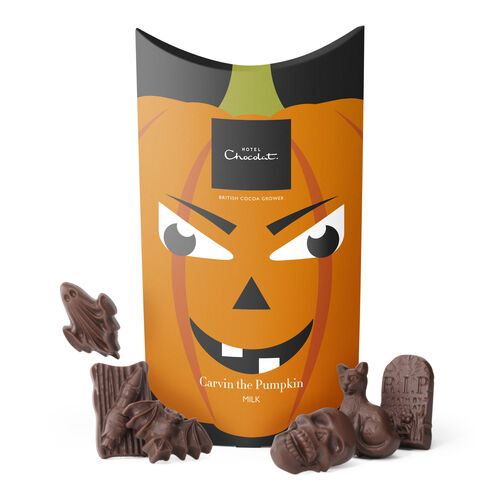 Carvin the Pumpkin Boo Box – Milk Chocolate, , hi-res