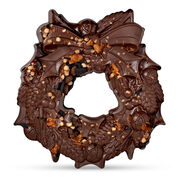 The Large Chocolate Christmas Wreath – Cookie, , hi-res