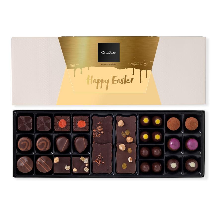 The Easter Dark Chocolate Box Sleekster, , hi-res