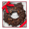 The Large Chocolate Wreath - Cookie