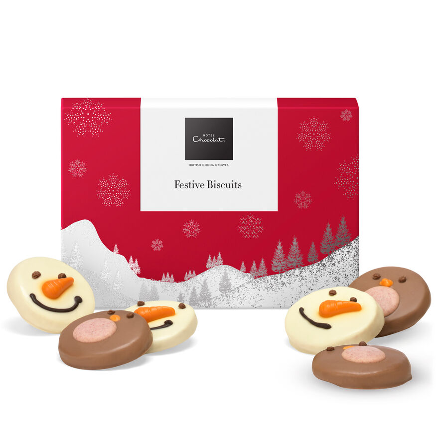 Christmas Biscuit Box , , hi-res
