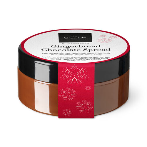 Gingerbread Christmas Chocolate Spread, , hi-res