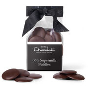Supermilk 65% Chocolate Puddles, , hi-res