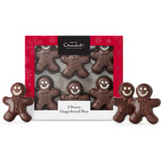 A Dozen Chocolate Gingerbread Men, , hi-res