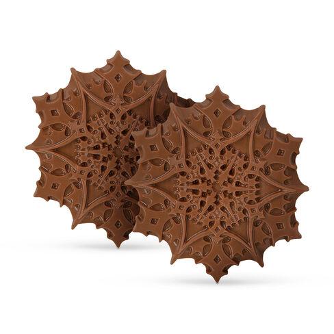 Christmas Chocolate Snowflakes – Salted Caramel, , hi-res