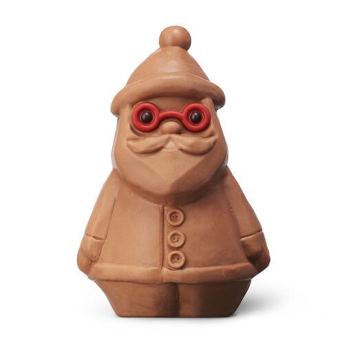 Jolly Chocolate Santa – Caramel-milk Chocolate, , hi-res