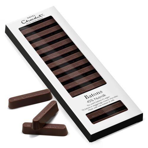 45% Nutmilk Chocolate Batons , , hi-res