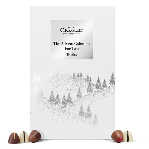 The Chocolate Advent Calendar For Two , , hi-res