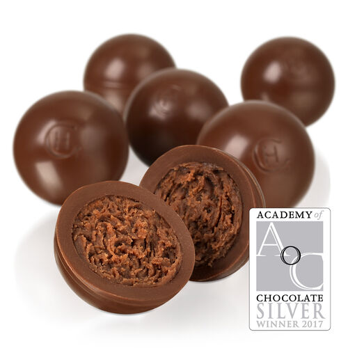 Simple Milk Chocolate Truffles Selector, , hi-res