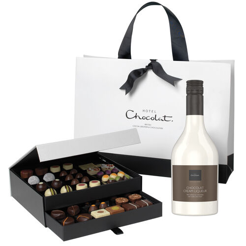 The Classic Chocolate Cabinet with Chocolat Cream Liqueur, , hi-res