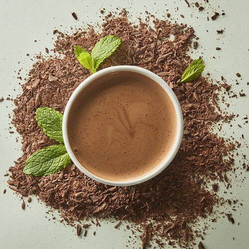 Dark with Peppermint Hot Chocolate - Single Serves, , hi-res