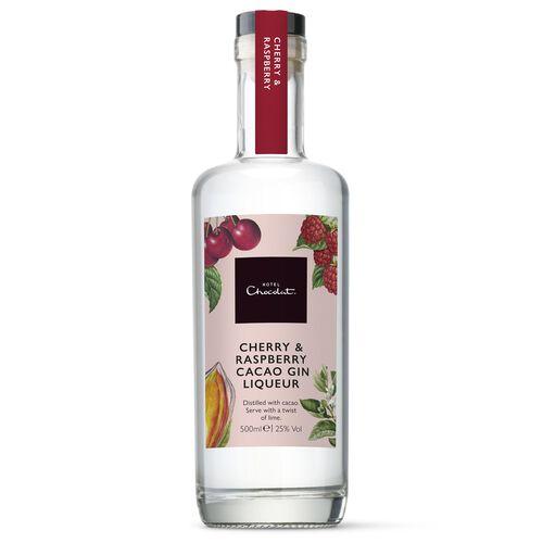 Cherry & Raspberry Gin 500ml, , hi-res