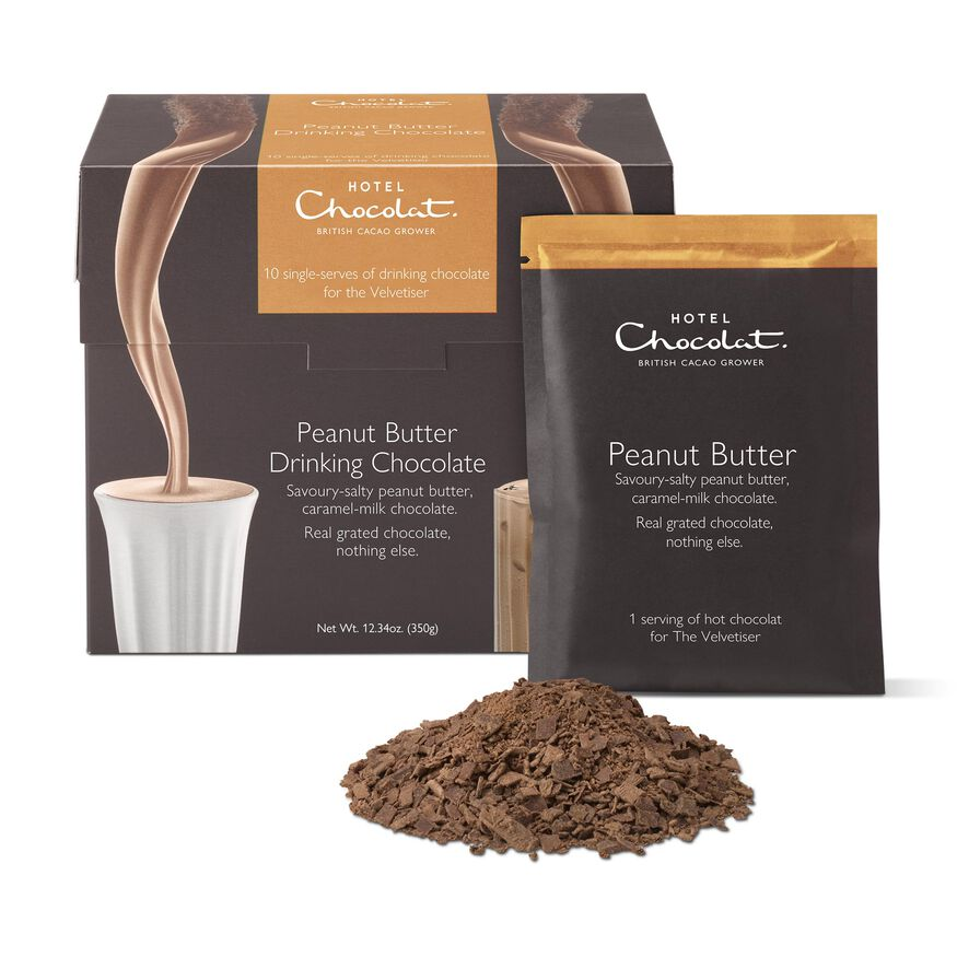 Peanut Butter Hot Chocolate Sachets, , hi-res