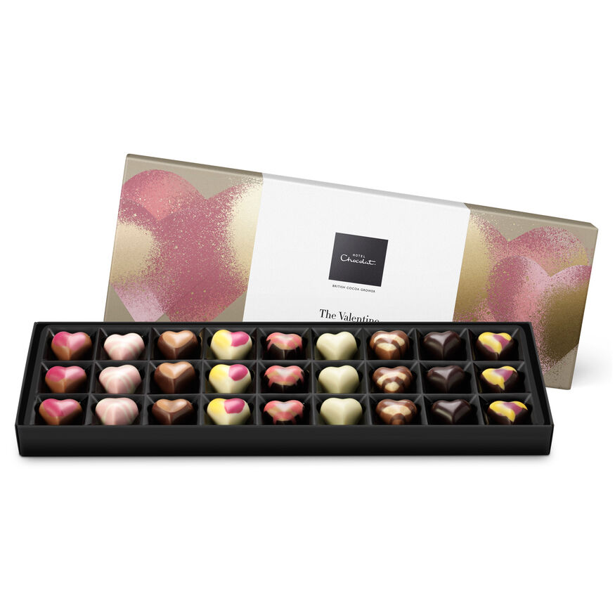 Valentines Chocolate Box Romantic Valentines Gift By