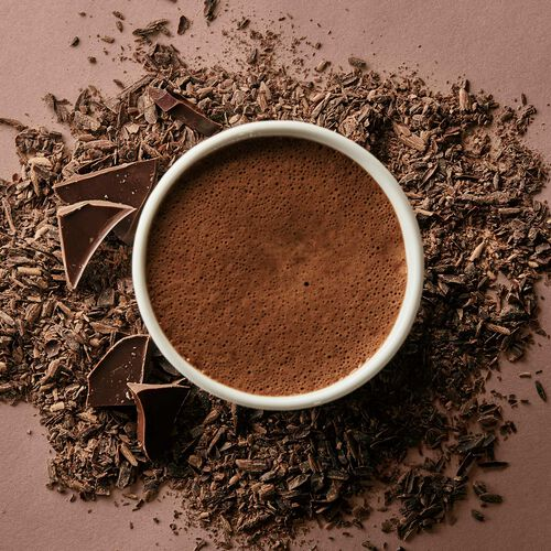 85% Dark Hot Chocolate – Single-Serves, , hi-res