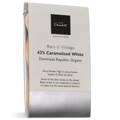 42%  Caramelised White  Dominican Republic, Organic, , hi-res