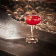 Raspberry Bellini Cocktail Recipe, , hi-res