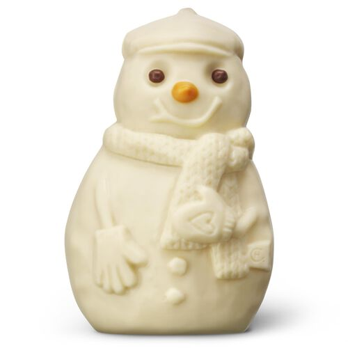 Jolly White Chocolate Snowman, , hi-res