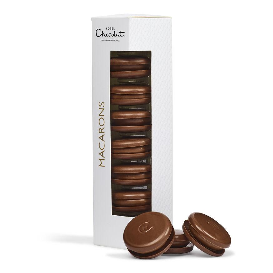 Chocolate Macarons, , hi-res