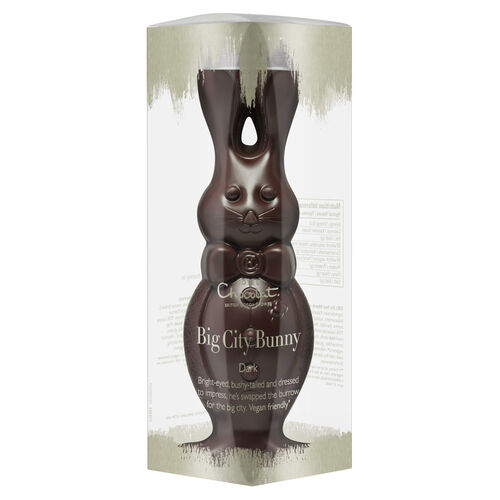 Dark Chocolate Bunny, , hi-res
