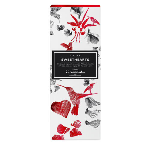 Chilli Heart Shaped Chocolate, , hi-res