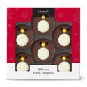 A Dozen Portly Chocolate Penguins